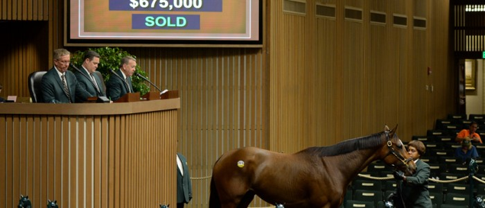 Four Star Sales Keeneland November Leading Consignor By