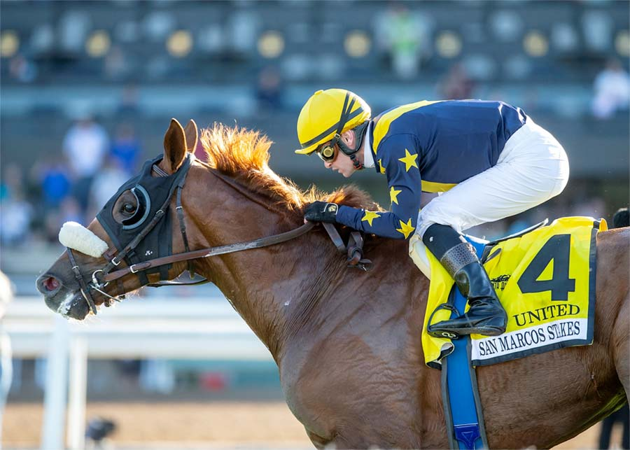 Four Star Fasig Tipton Grad United Wins San Marcos G2
